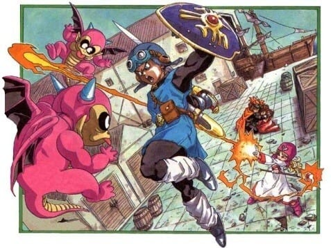 Killing Stuff with Your Cousins: Dragon Quest 2!