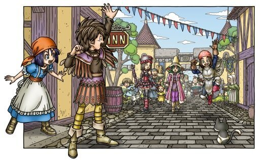 Dragon Quest IX: Quester's Rest, Krak Pot, and the Starflight Express
