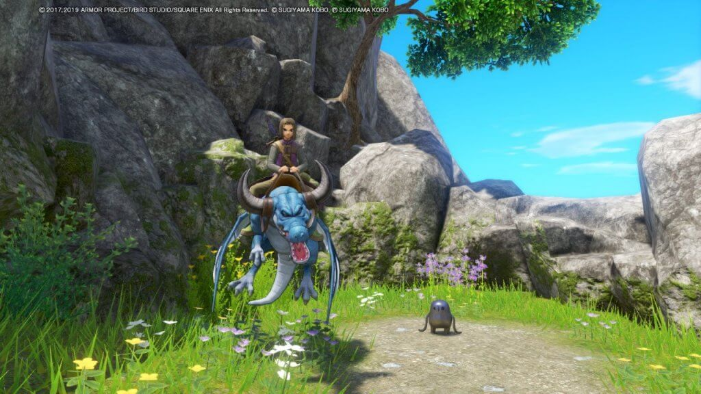 A silver tockle in Dragon Quest 11 S for Nintendo Switch