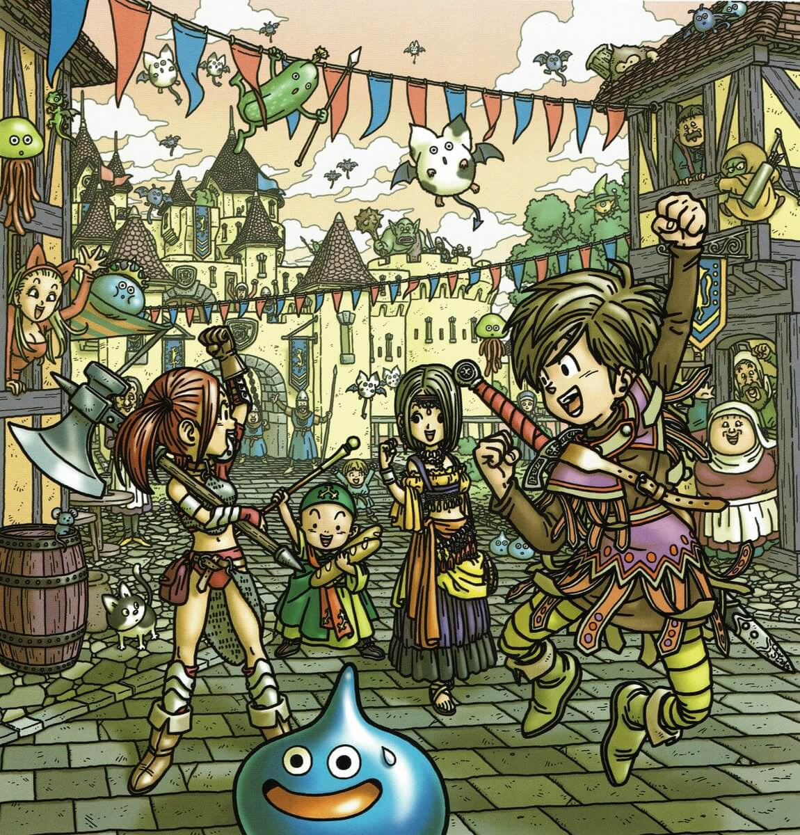 Dragon Quest FM, Episode 33: Dragon Quest IX Deep Dive (Episode Four): Let's Talk About the Gittish Empire, Grottos, and Our Favorite Games of the Year!