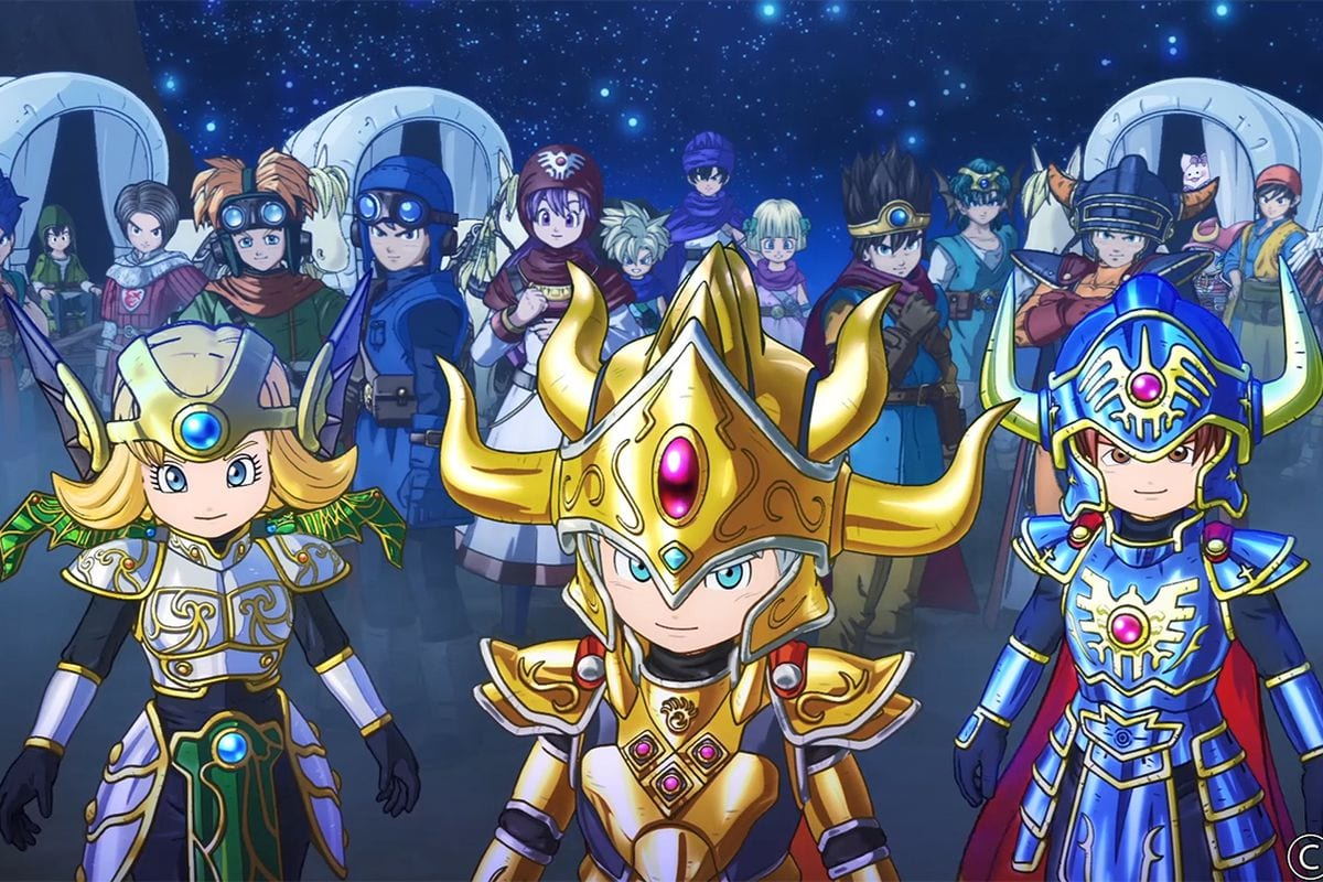 Dragon Quest of the Stars is Out Now!