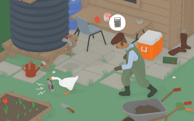 Untitled Goose Game and Expression