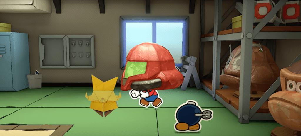 paper mario samus helmet