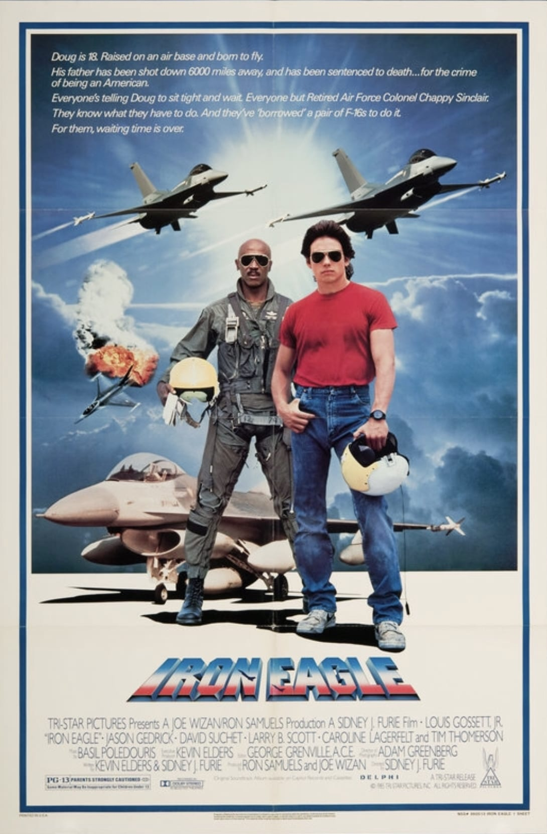 Iron Eagle (1986) [Schlockoholics Anonymous]
