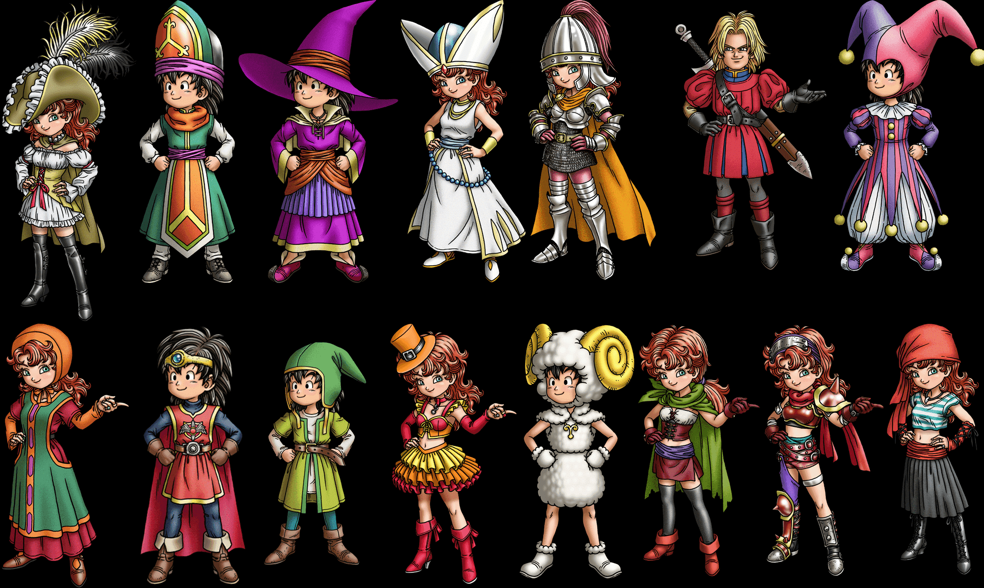 Best Vocations in Dragon Quest VII (Human Edition)