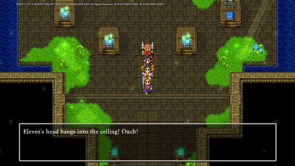 doing the dragon quest 11 tickington quests in 2d on the nintendo switch
