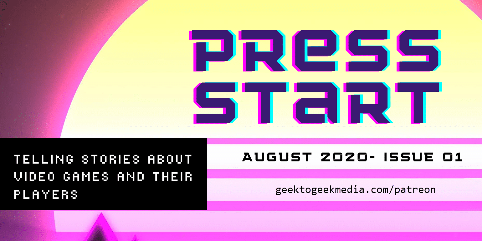 Our New Video Game Magazine, PRESS START, is Out Now!