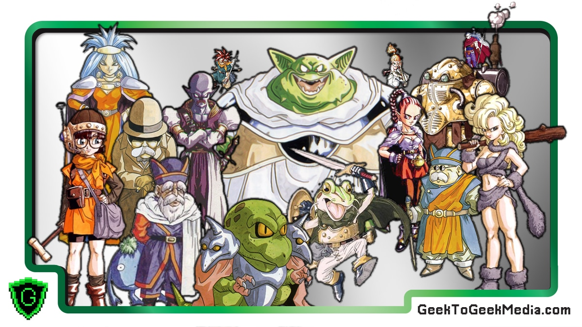 Naming and Rating Chrono Trigger Characters Based Only on Their Artwork