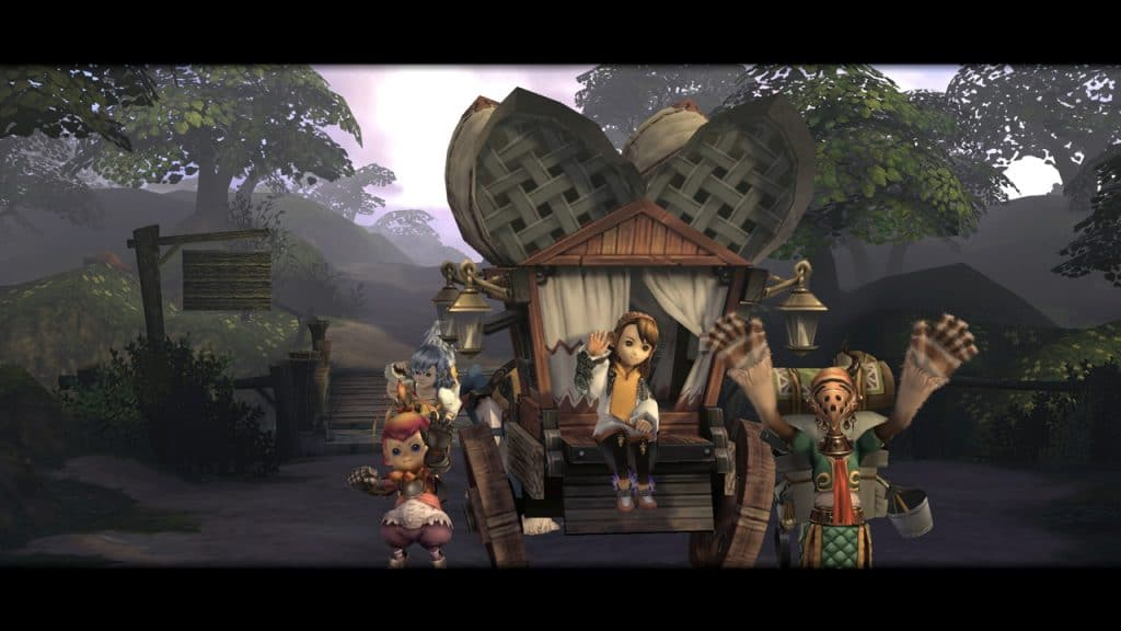 Final Fantasy Crystal Chronicles caravan