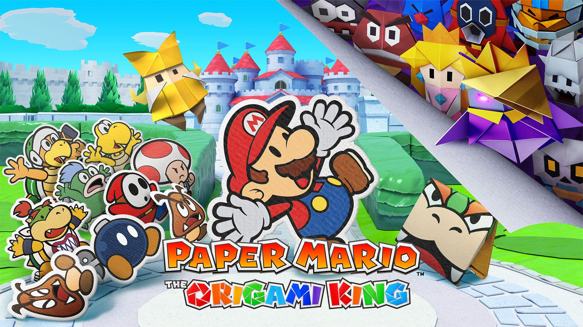 Paper Mario: The Origami King (Video Game Review)