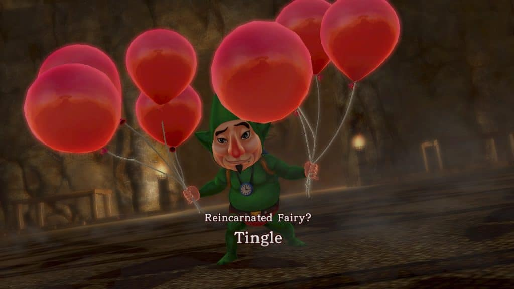 No other Zelda game has ever let you kill Ganondorf as Tingle. Thank you, Hyrule Warriors.