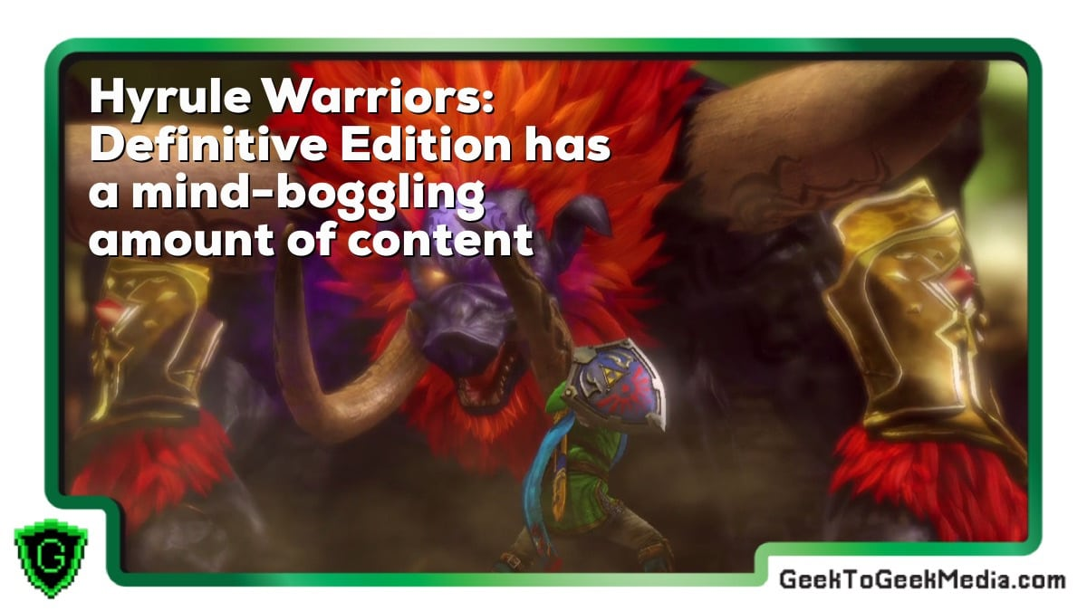 Hyrule Warriors: Definitive Edition Has a Mind-Boggling Amount of Content