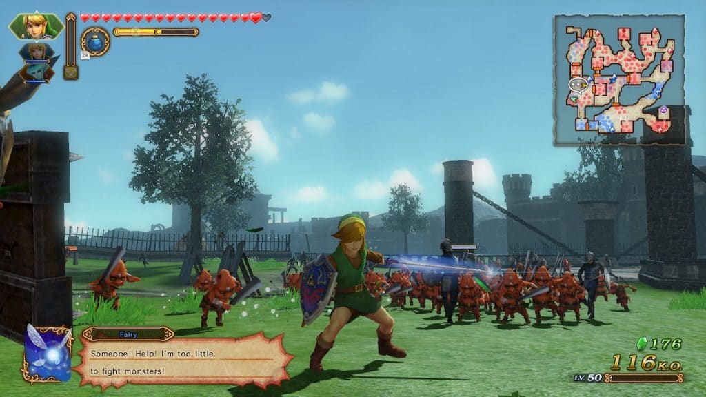 Hyrule Warriors Definitive Edition Has A Mind Boggling Amount Of Content