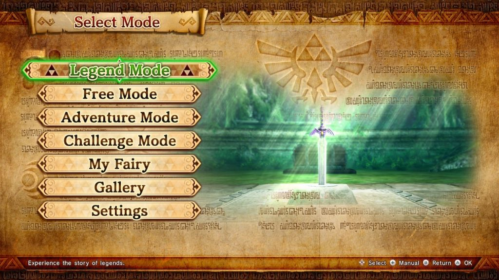 The Hyrule Warriors Definitive Edition has so...many...modes. So. Many.