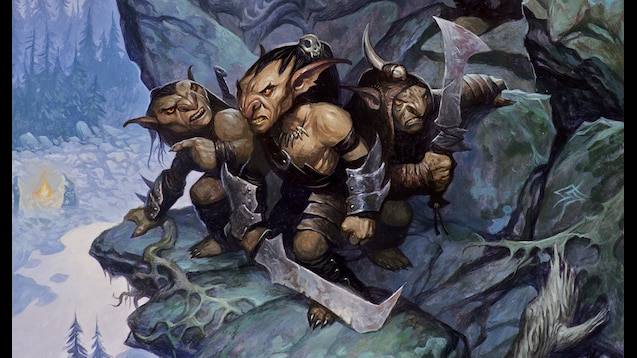 lost mine of phandelver dungeons and dragons goblins