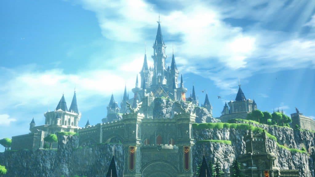 Hyrule Castle Glamour Shot