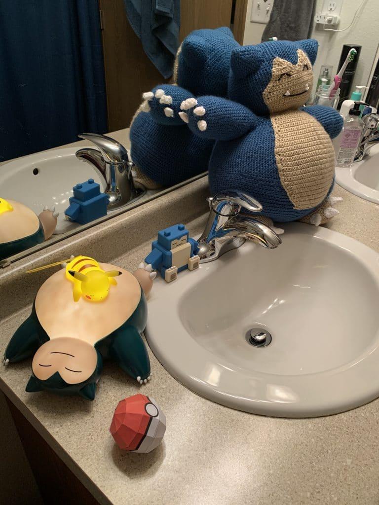 Bathroom Snorlax