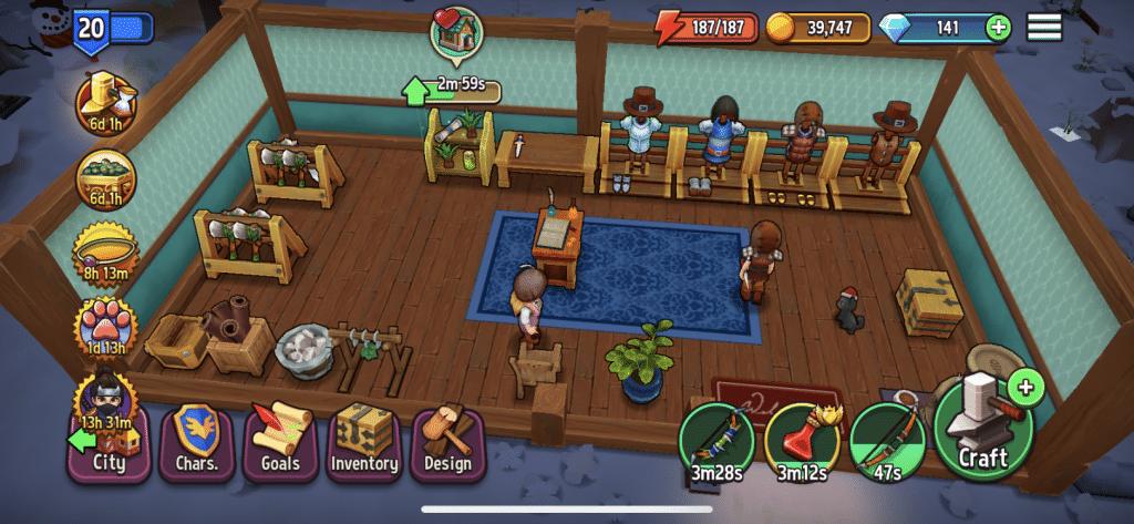 Shop Titans Screenshot