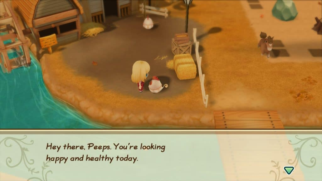 Chickens in Story of Seasons
