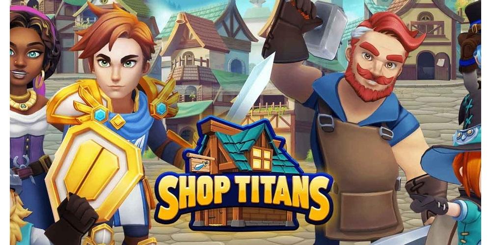 Shop Titans Main Screen