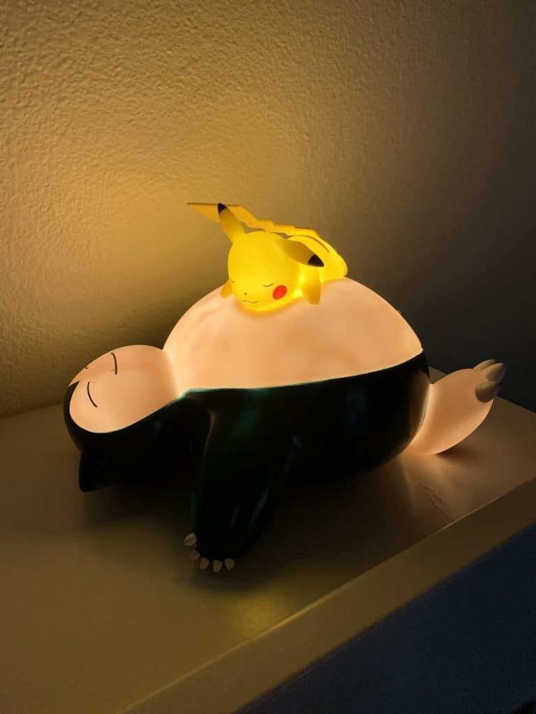 Snorlax Pikachu Lamp