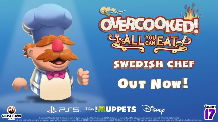 Overcooked All You Can Eat Swedish Chef Reveal