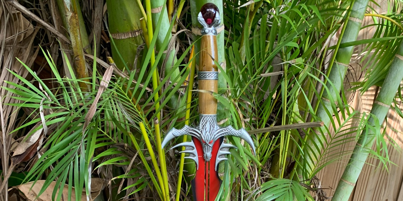 Hey, This Is A Really Cool Red Dragon's Battle Sword From Medieval Collectibles