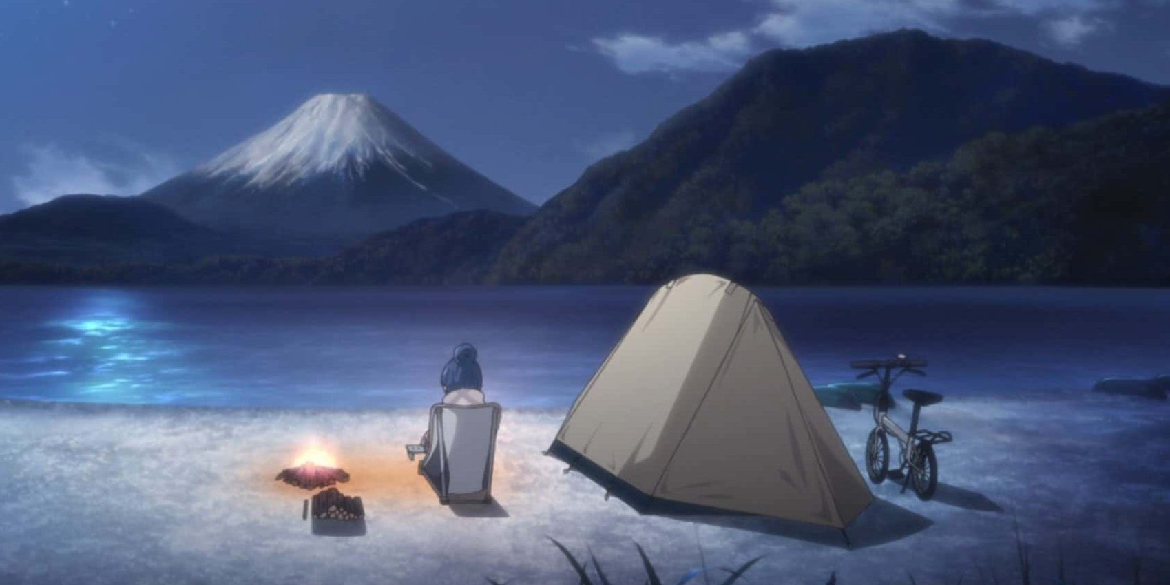 Yuru Camp Fuji View