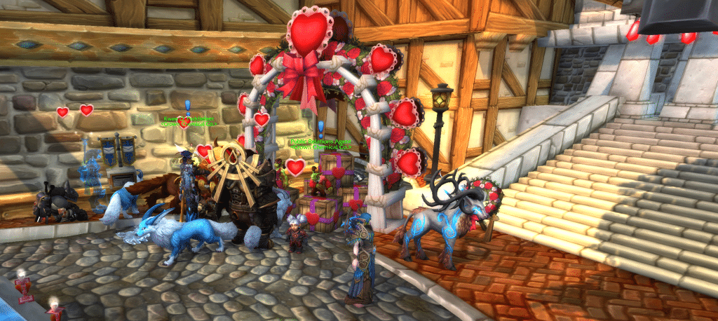 Stormwind Love is in the Air Arch WoW
