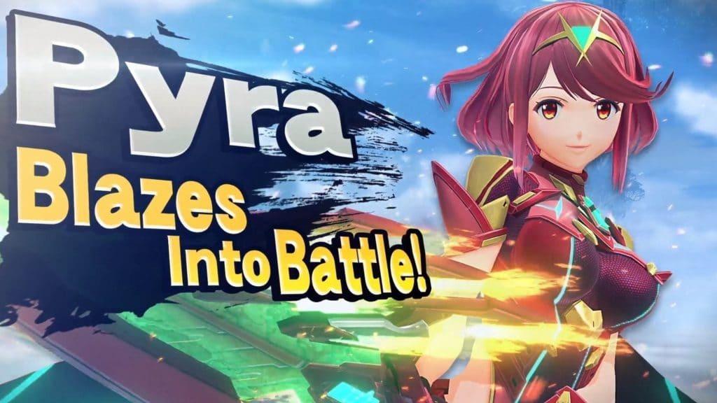 Pyra in Smash Bros