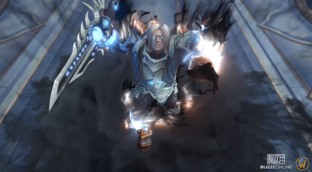 Anduin from WoW turned evil in Shadowlands trailer