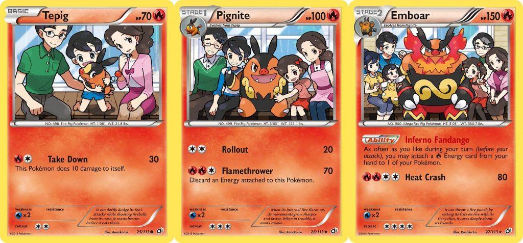 Pokémon TCG Tepig Line