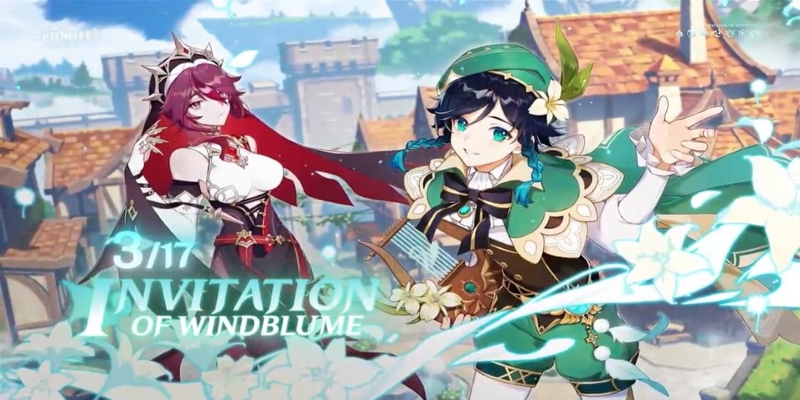 Genshin Impact 1.4 Update: Invitation of Windblume, Rosaria, Hangout Events, and More!