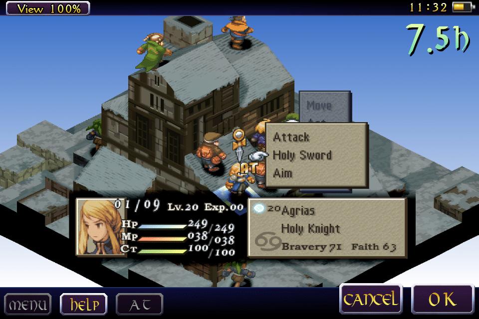 Final Fantasy Tactics Battle Scene