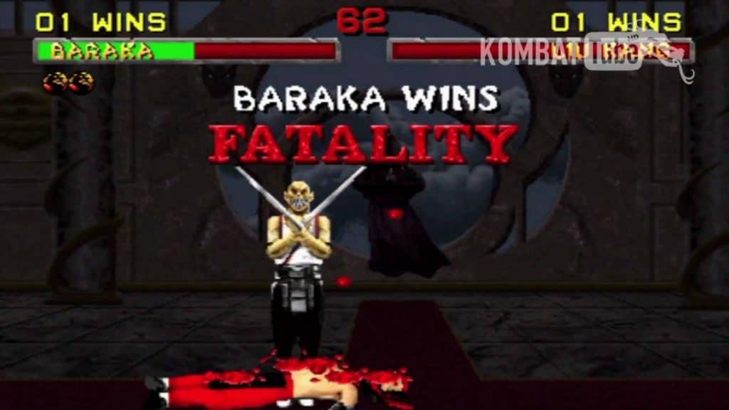 Image of Baraka winning