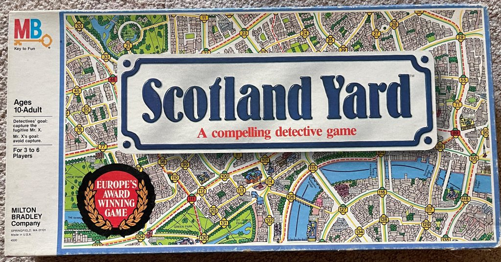 Scotland Yard Old Box Style