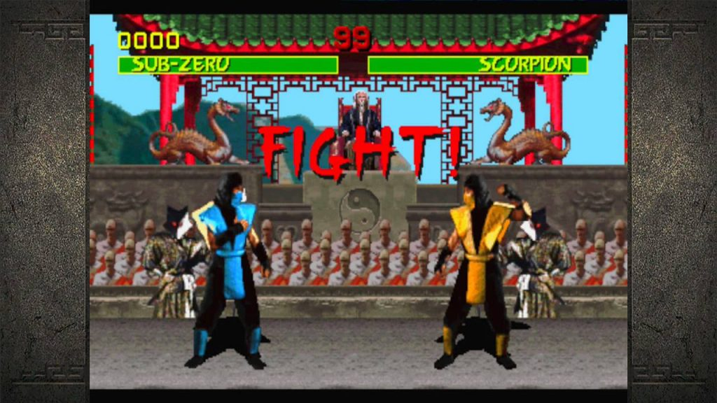 Definitely not what Scorpion vs Sub-Zero is going to look like on HBO Max