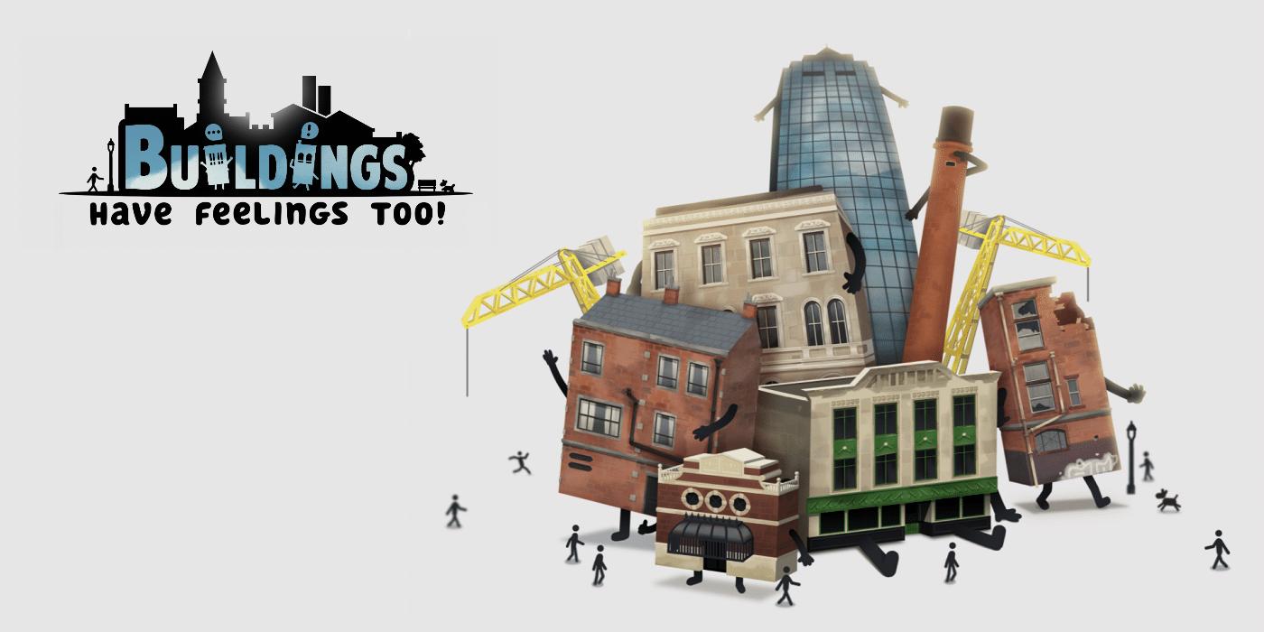 Buildings Have Feelings Too! (Video Game Review)