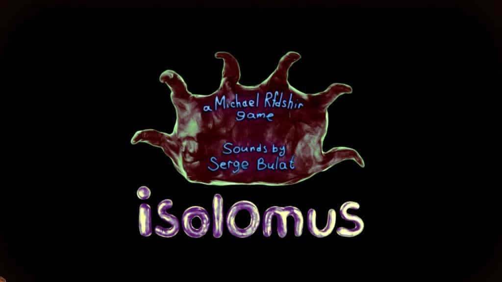 Isolomus title screen