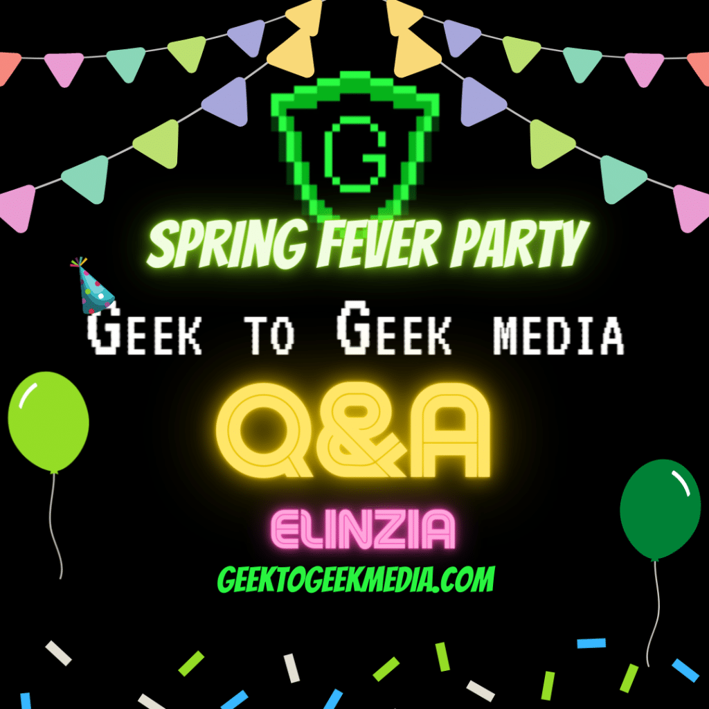 Q&A with Elinzia picture