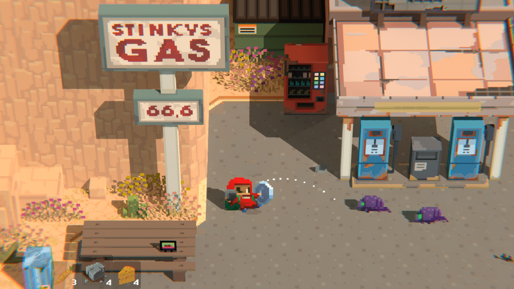 Screenshot from Mayhem in Single Valley