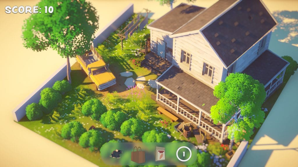 Screenshot from the game Out of Sight