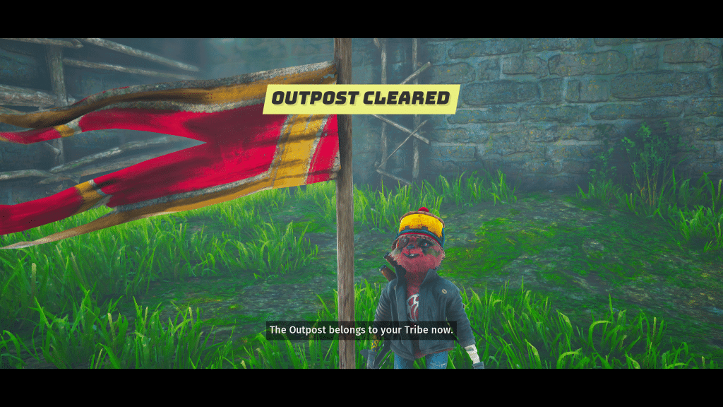 Screenshot- Outpost cleared!