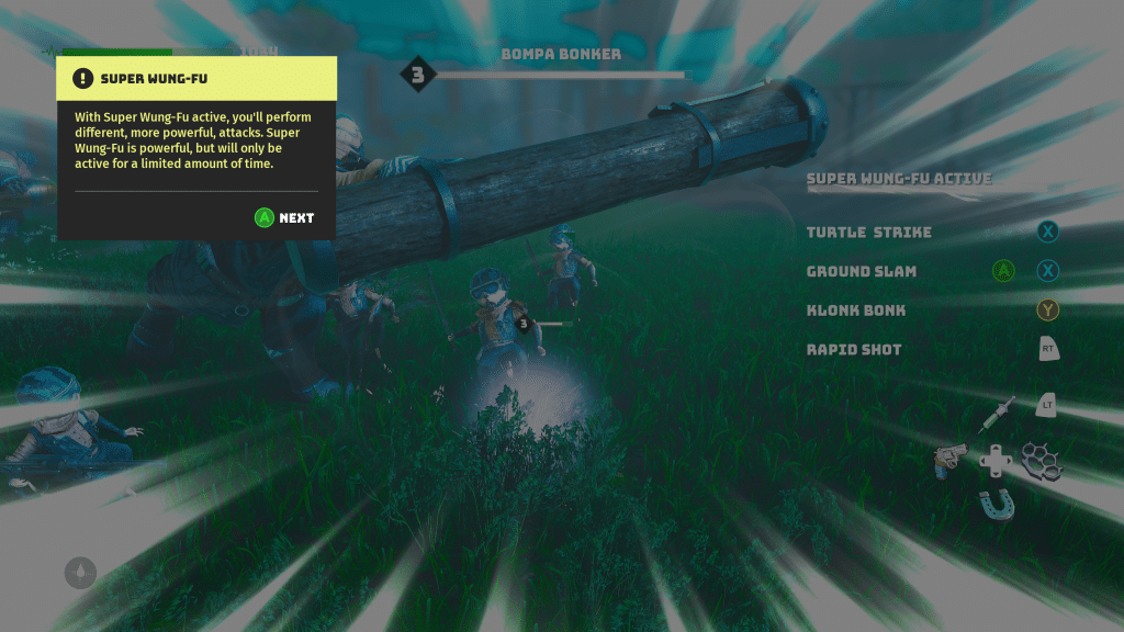Super Wung-fu! Screenshot