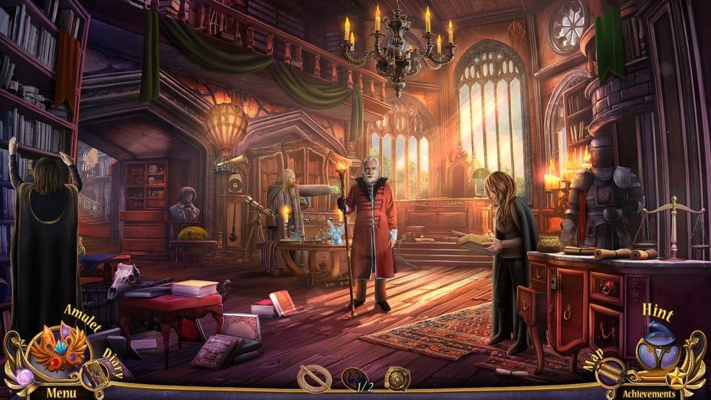 Screenshot from Queen's Quest 3