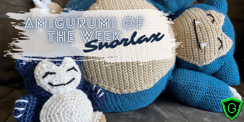 Amigurumi of the Week Snorlax