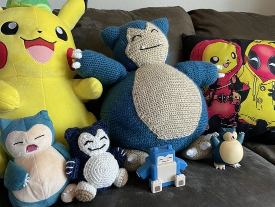 A group of Snorlax