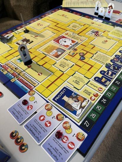 The Dilbert Board Game Board