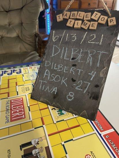 Our ending scoreboard