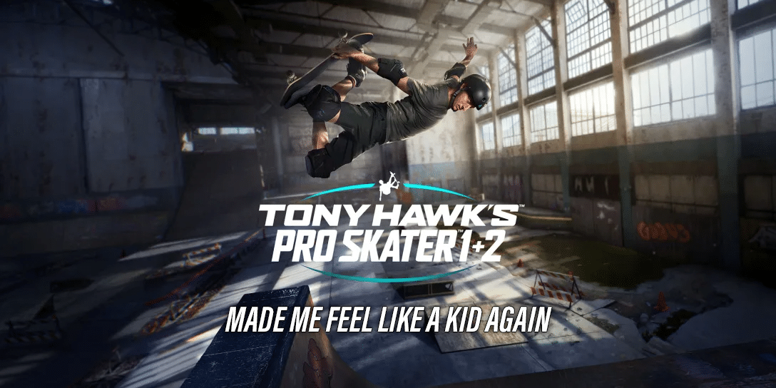 Tony Hawk's Pro Skater 1 + 2 on Switch Made Me Feel Like a Kid Again (Review)